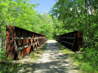enclosed bridge