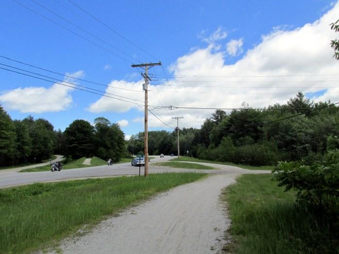 view at Plains Road