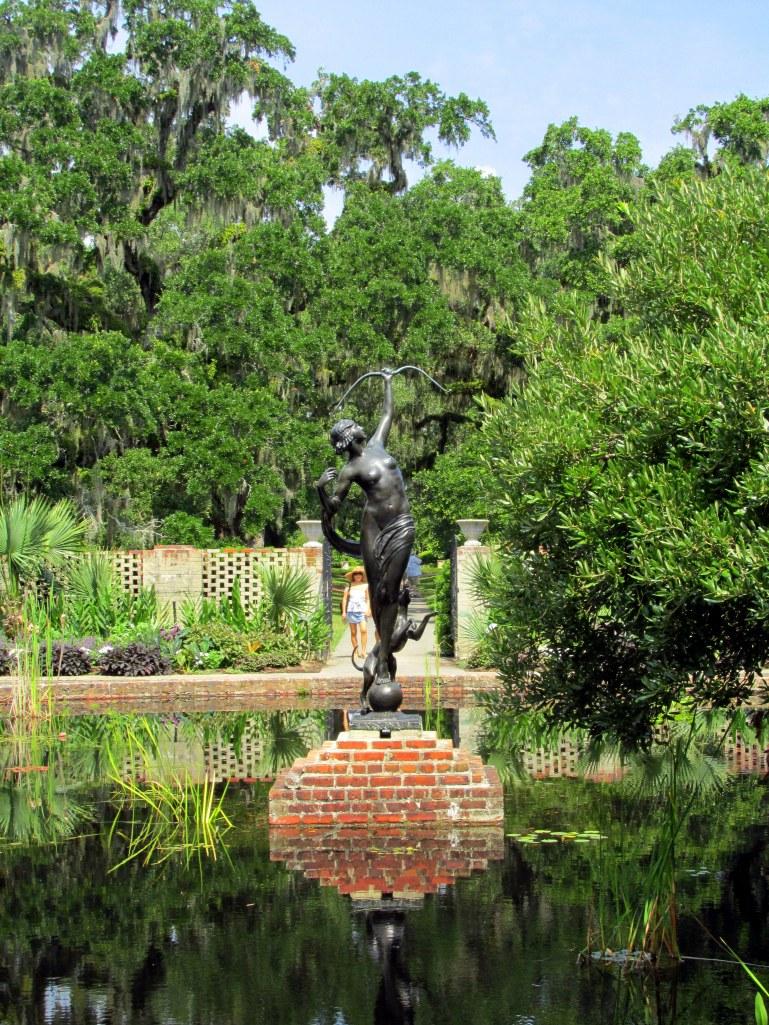'Diana' sculpture (by Anna Huntington)