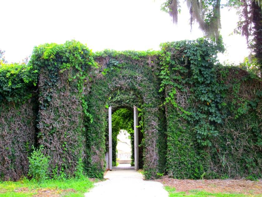 entrance to sculpture garden