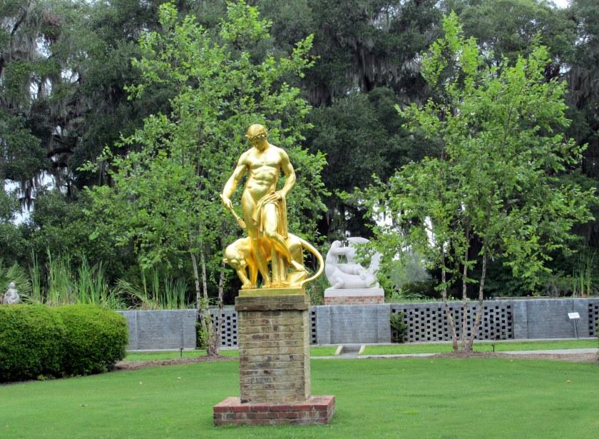 'Dionysius' sculpture in Gretchen's Garden