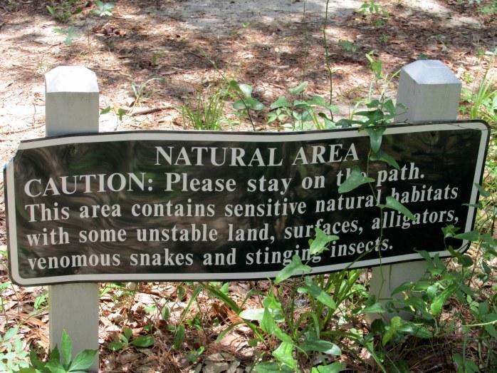 hazards sign!
