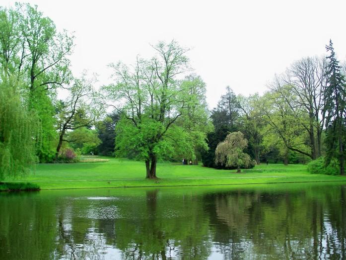 landscape near Italian gardens