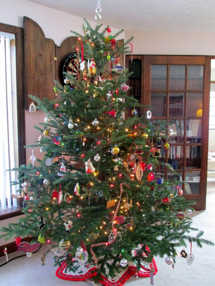 2014 tree: Christmas tree on 16 Jan 2015