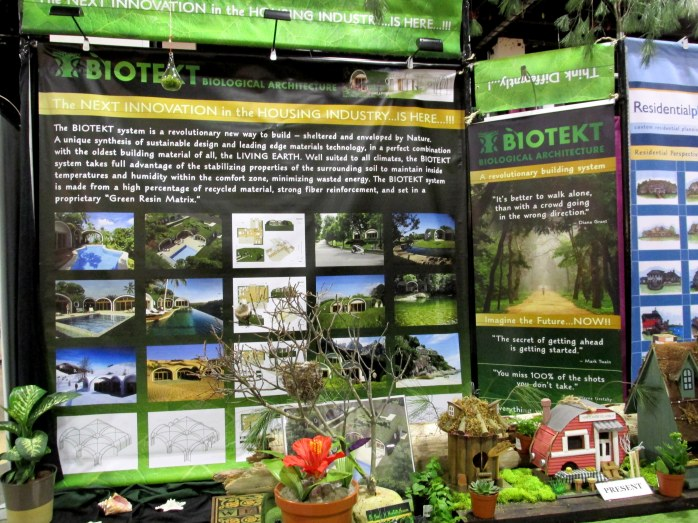 BioTekt Biological Architecture vendor display