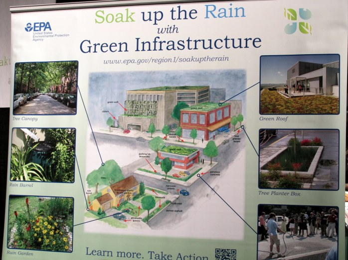 EPA Soak up the Rain display