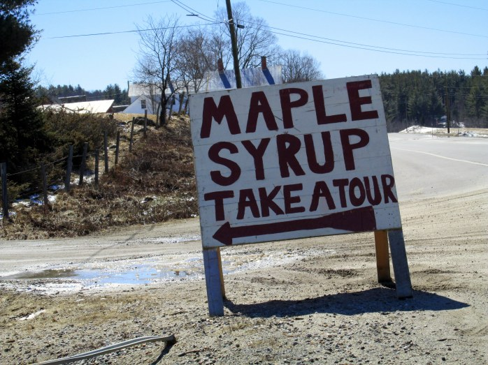 MapleSyrupTakeAToursignHHF29March2015