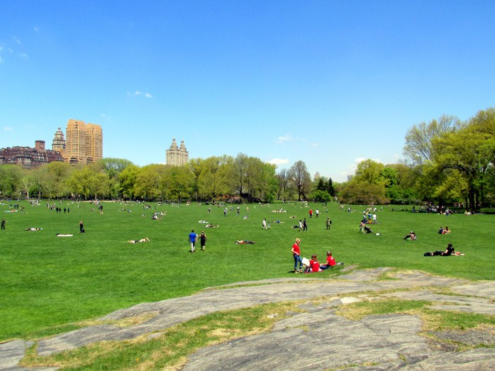 sheepmeadowledgeCentralParkNYC2May2015