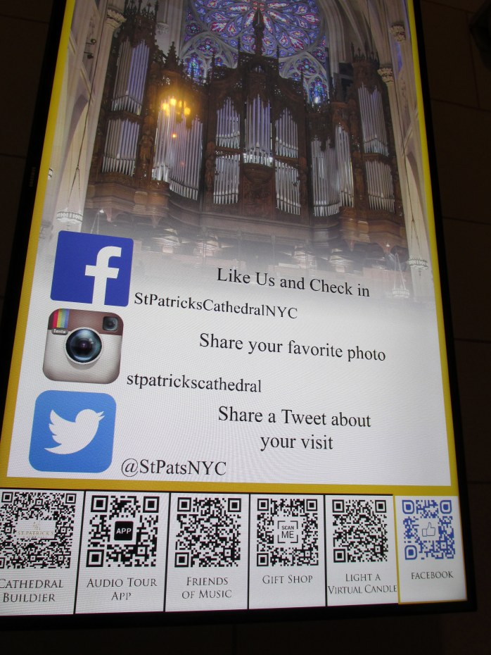 StPatrickschurchFacebooksignageNYC2May2015