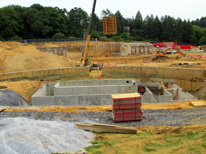 constructionzonewherefountainswerecLongwoodGardens23June2015