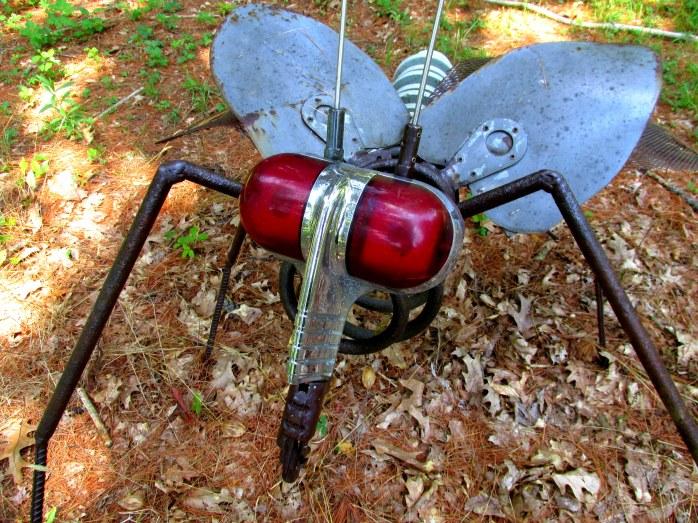 mosquito close, in Dark Woods