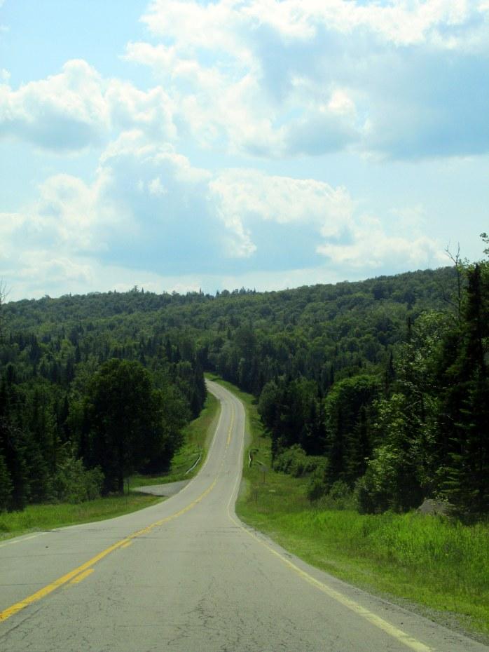 Route3nearMegallowayRoadPittsburgNH10July2015