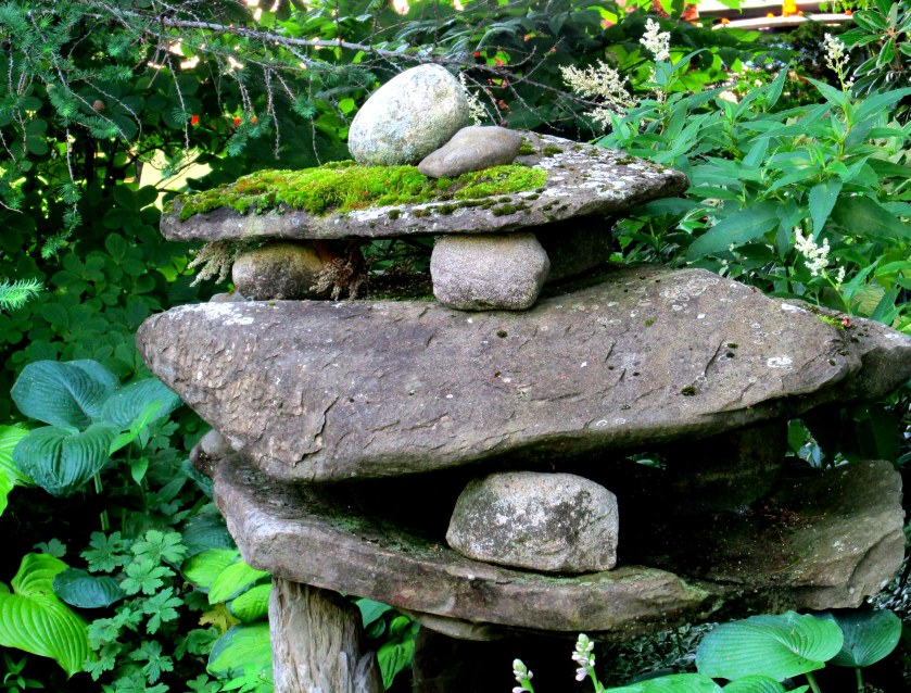 stacked rocks, Swaleway