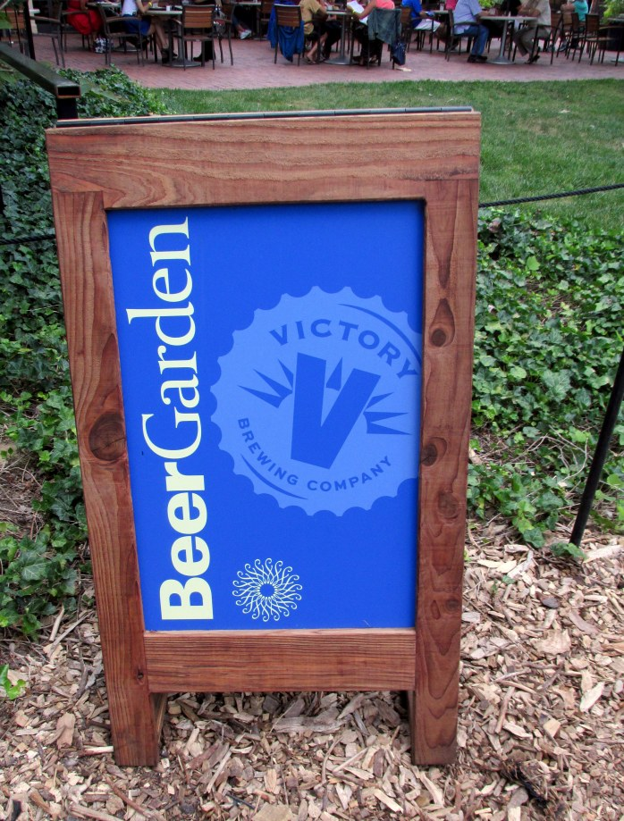 beergardensignLongwoodGardens6Aug2015
