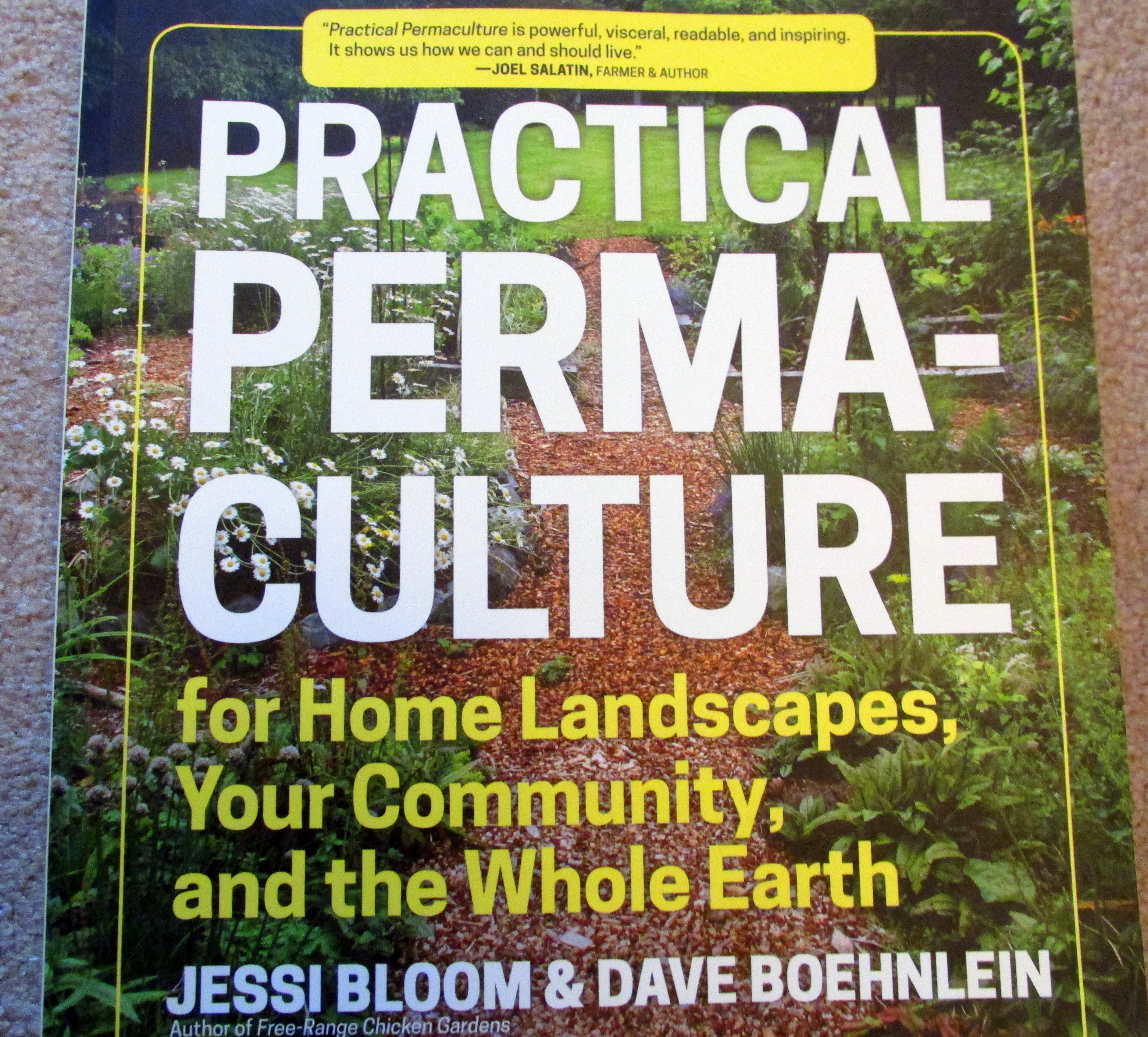 Backyard Permaculture Book : my permaculture group read practical permaculture for home landscapes