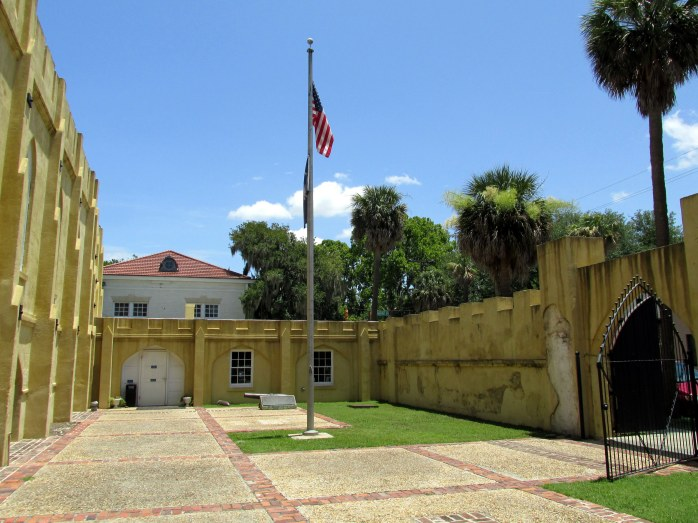 Beaufort SC Welcome Center (old armory), June 2014