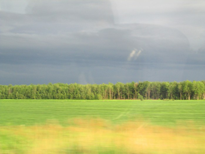 Quebec field, 7:30 pm, 29 June 2013