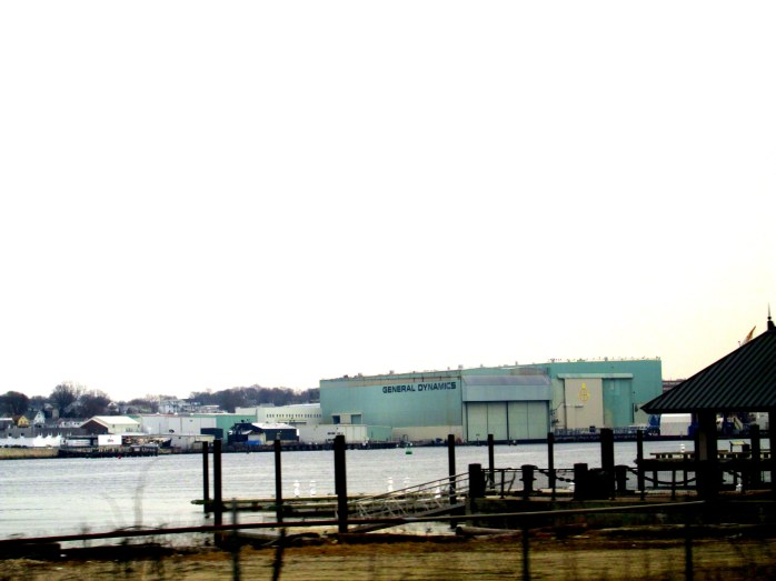 General Dynamics, Mystic CT, March 2014