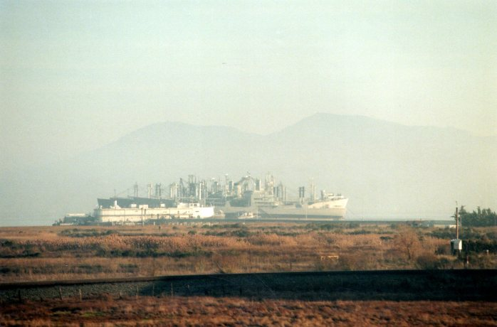 ship, Martinez, CA, Jan 2004