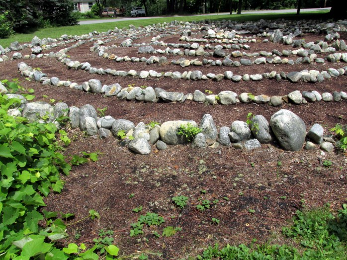 local labyrinth, 11 July 2013