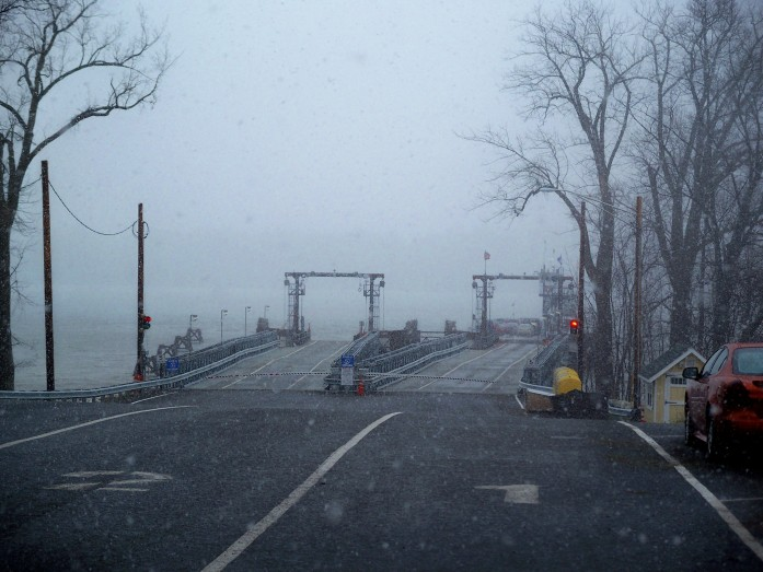 end of world? ferry landing, Lake Champlain (VT to NY), Nov. 2010