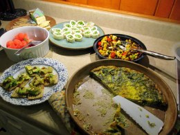 moregreatpermaculturefoodatCandiss27May2015
