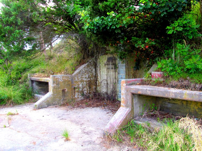old battlements, Cape Henlopen, near Rehoboth, DE, Aug 2013