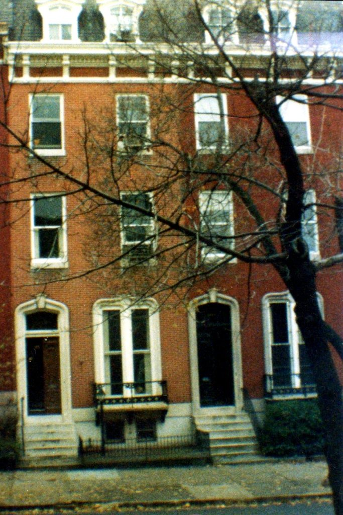 One of the apartment buildings I lived in in Baltimore