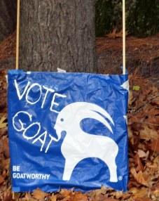 Vote Goat, 4 Nov 2014