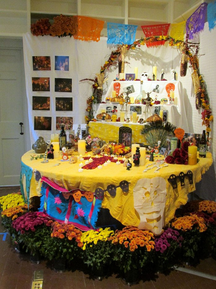 Dia de Muertos altar , VT Folklife Center