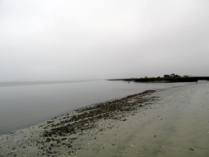 foggybeachwater1130amStAndrewsJekyll25Dec2015