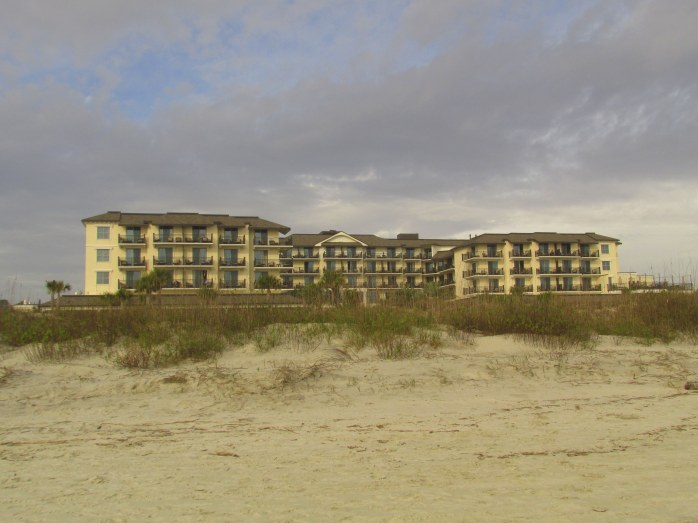 Westin hotel from beach