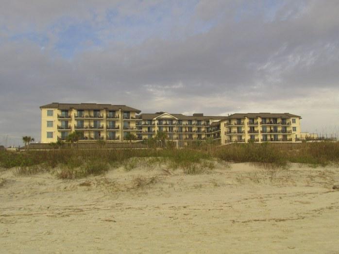 Westin hotel from beach