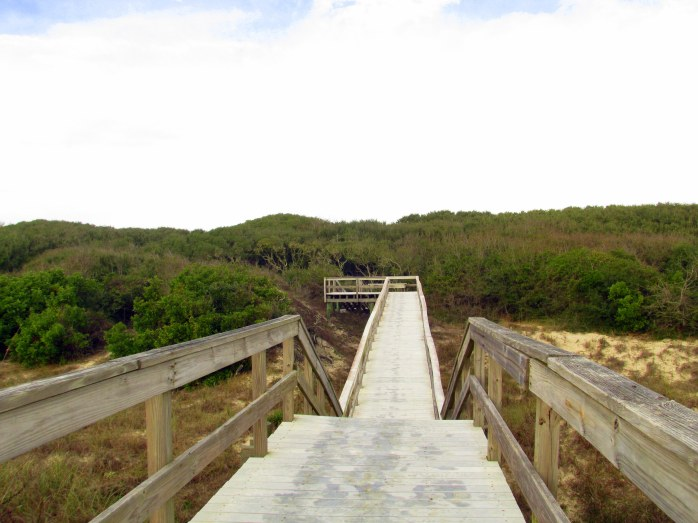 boardwalk from South Dunes Picnic Area to beach