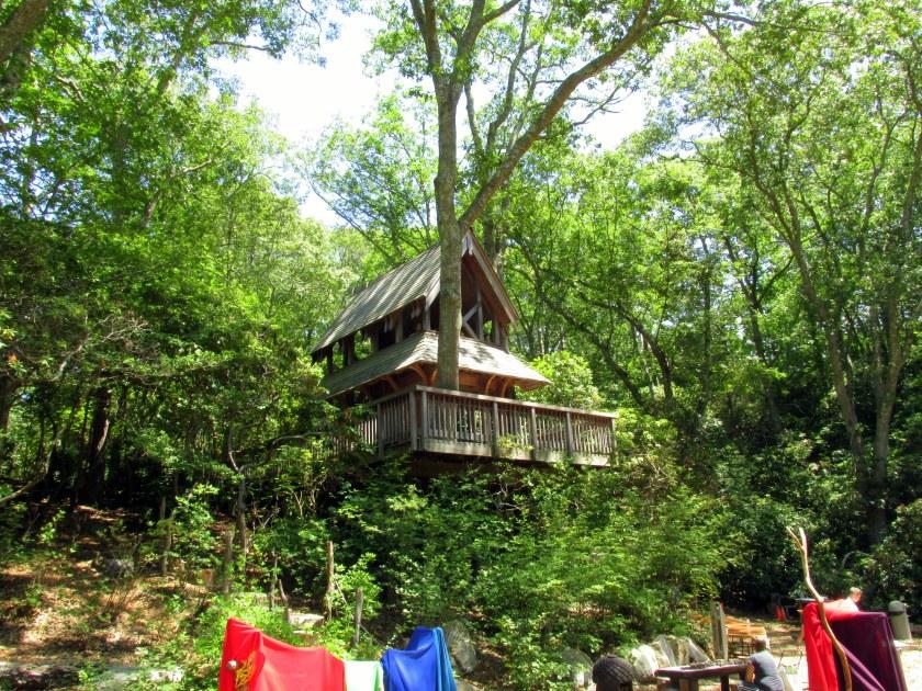 Hidden Hollow treehouse