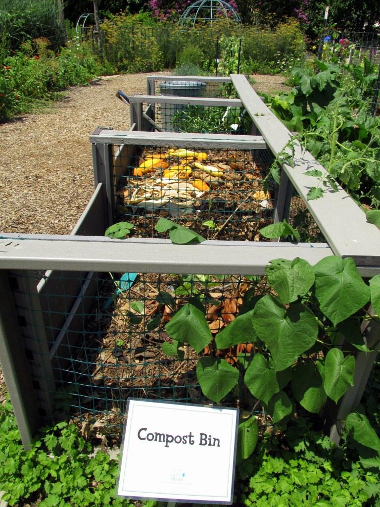 three-bin compost system