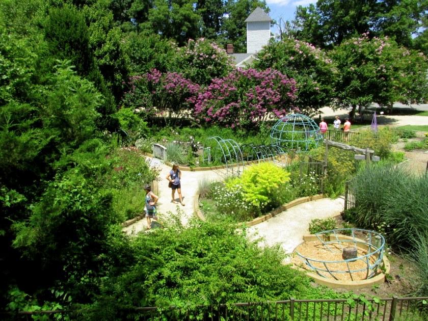 overview of part of children's garden