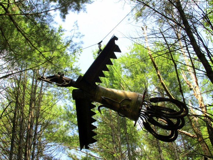 darkwoodssculpturequetzalcoatlbedrockgarden19july2015
