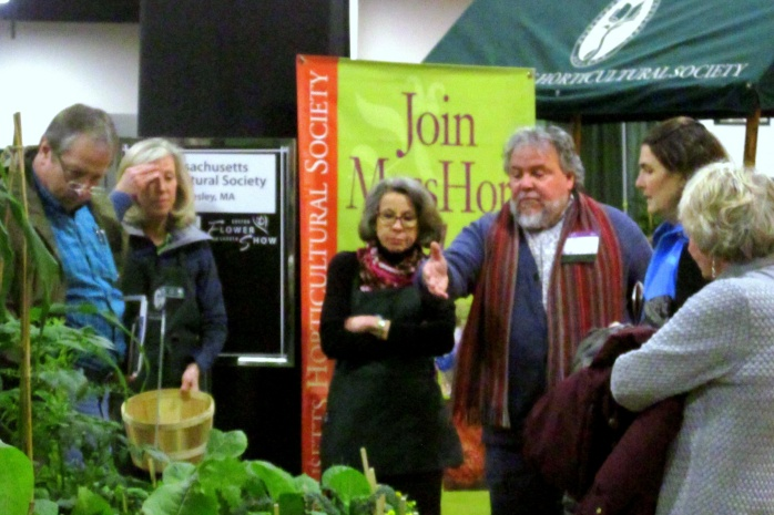 JohnFortipeopleMassHortSocietyBostonFlowerShow24March2017