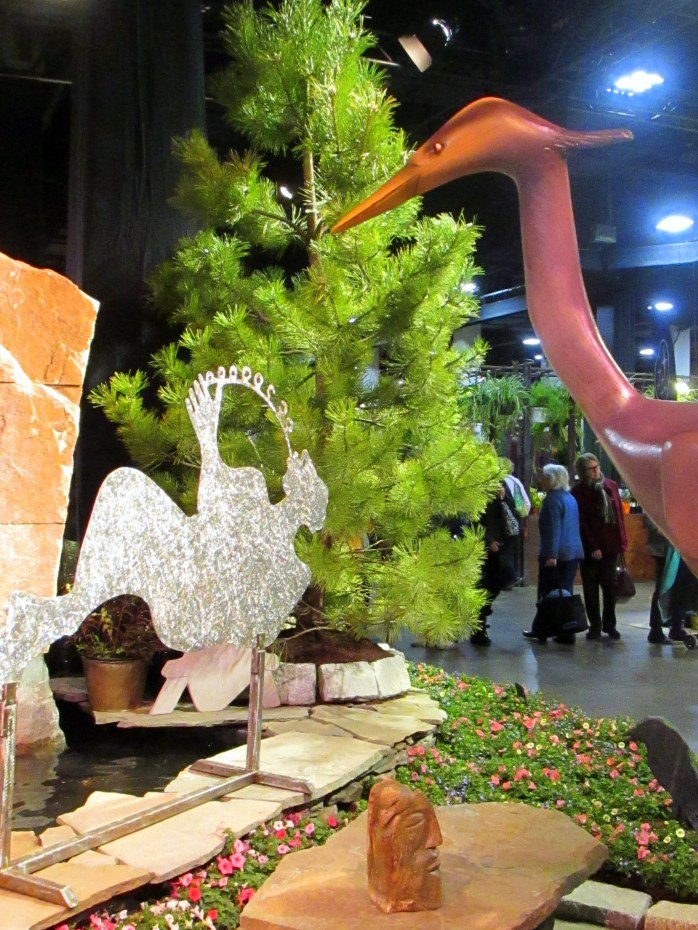 sculpturebenchheronJosephGrayStoneworkBostonFlowerShow24March2017