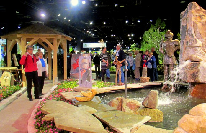 watersculpturepoolpathknightJosephGrayStoneworkBostonFlowerShow24March2017