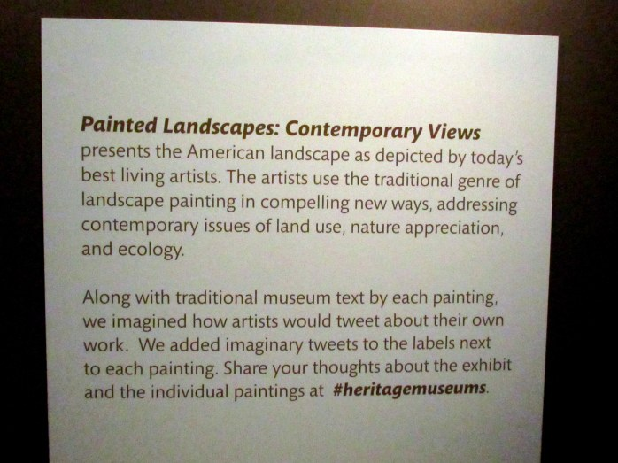 PaintedLandscapessignartHeritageMuseumSandwichMA26April2017