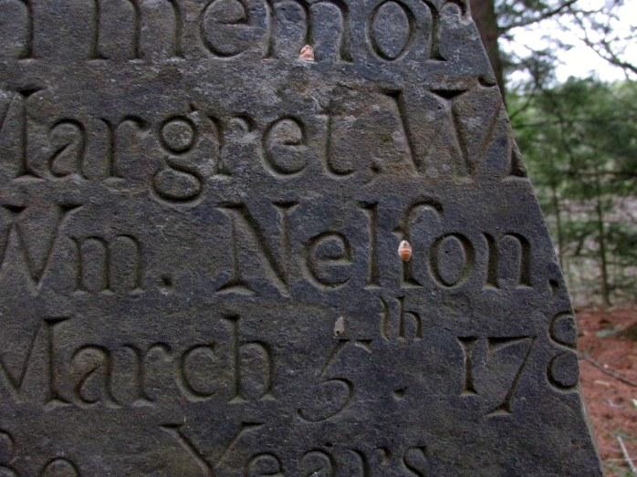 partialgravestoneMargaretNelson1780sLymeHillUVLT22April2017
