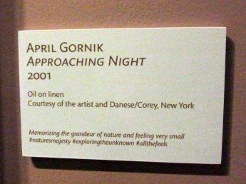 signApproachingNightAprilGornikartartHeritageMuseumSandwichMA26April2017