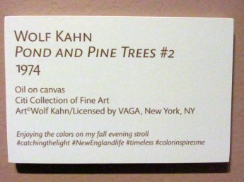signPondandPineTrees2WolfKahnartartHeritageMuseumSandwichMA26April2017