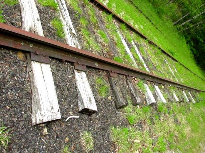 tracksrailroadtiesgrassNRTAndover4June2017