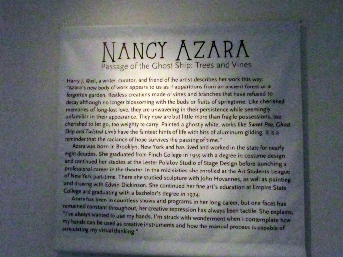 NancyAzaraartdescriptionSaintGaudensCornishNH20Aug2017