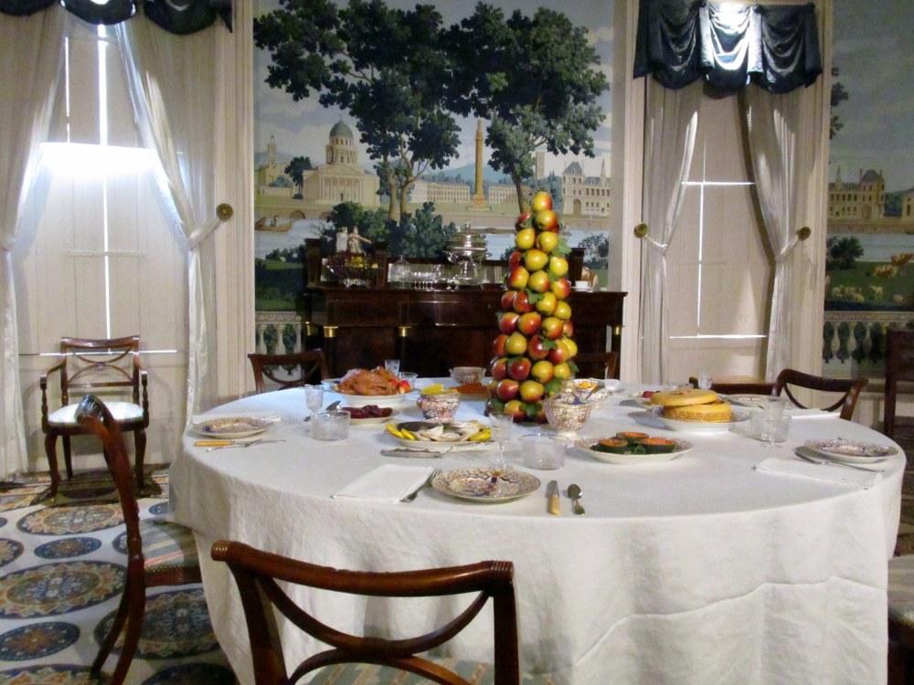 diningroomsetupfor12thNightTelfairMuseumSavannah18Dec2015