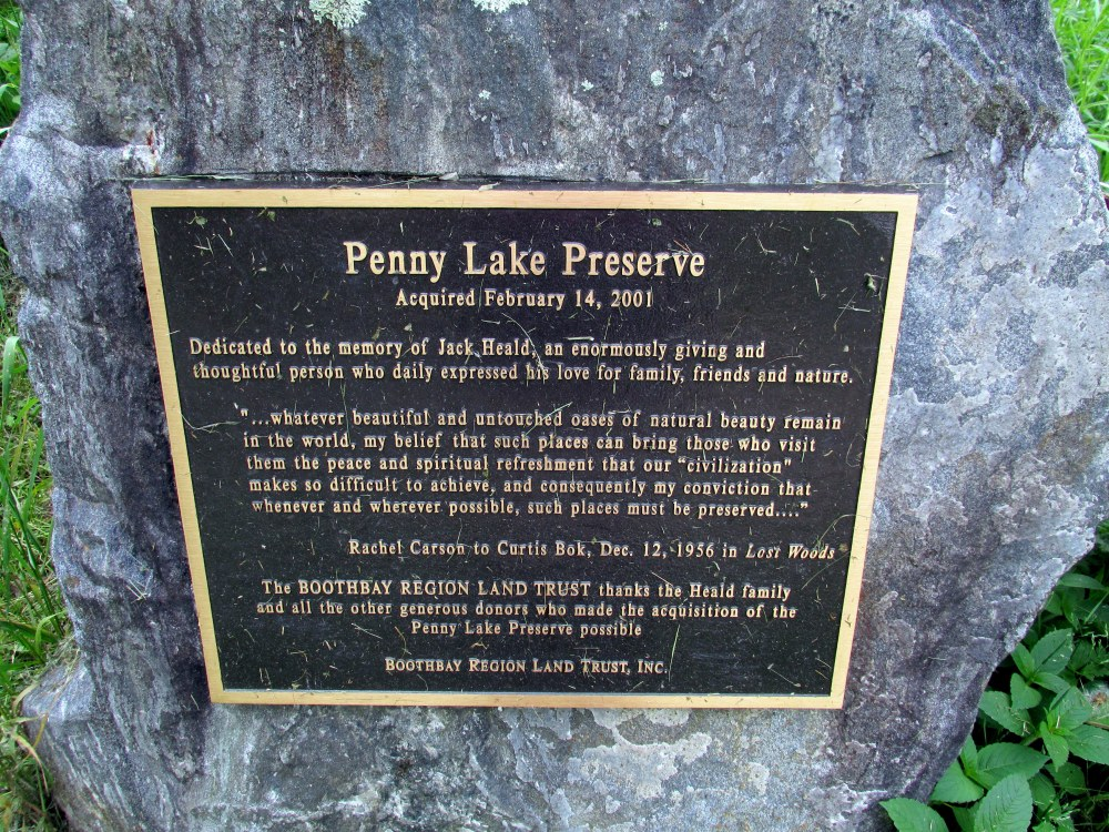 PennyLakePreservesignPennyLakeBRLT11June2015