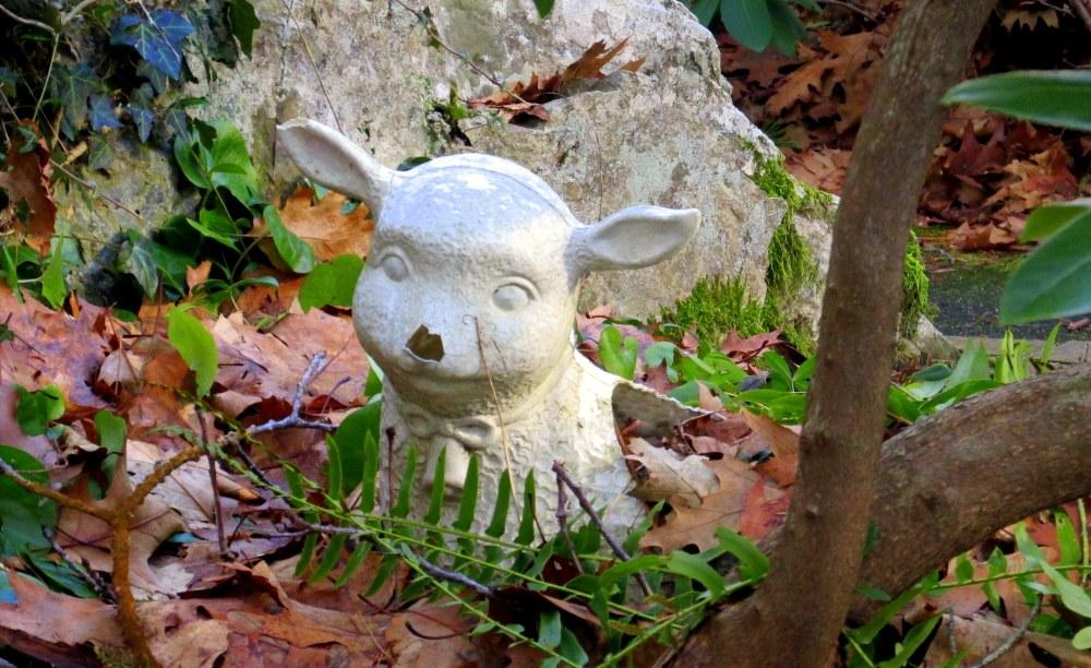 sheepLourdesshrineFranciscanMonasteryKennebunk29Dec2014